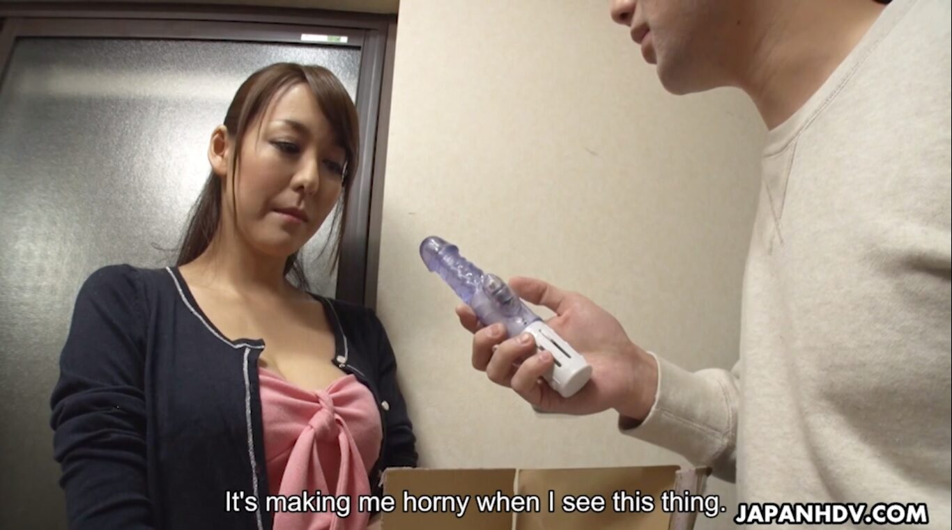Japanese Akari Asayiri is a very hot wife who is married to a lucky man who can fuck her whenever he wants