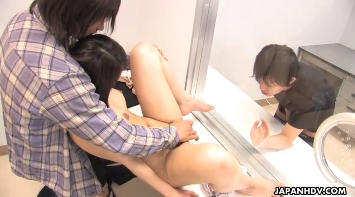 The hot Japanese Hikaru Matsu cheating on your husband with bad cop
