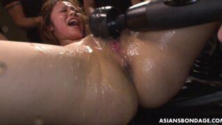 Japanese bondage with AV Idol Cocoa Saotome squirting
